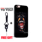 Rottweiler Shark animal Trend TPU Soft Silicone Phone Case Cover Shell For Iphon
