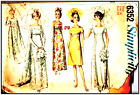 1960 S Vintage Sewing Pattern Simplicity Wedding Dresses,Bridesmaids sizes 12-18