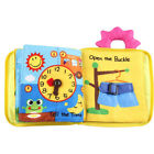 Baby Developmental Cartoon Cloth Book Bed Cognize Animals Kid Toys Funny Gift US