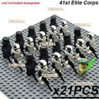 21x LEGO Star Wars Military Clone Army Minifigures Darth Vader Yoda Jedi Block