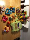 Baby Infant Toddler Toy Lot Of 10 toys Fisher Price Infantino Bright Starts etc