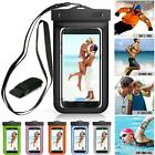 Waterproof Underwater Swim Pouch Dry Bag Case Cover Fit iPhone Cell Phone Mobile