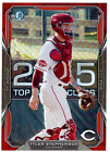 2015 Bowman Draft Red Wave Tyler Stephenson Jumbo Box Topper 4/5 TOC-TS