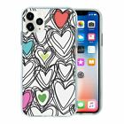 Silicone Phone Case Back Cover Cute Heart Pattern - S10000