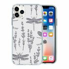 Dragonfly Insect Pattern TPU Back Case Cover For Mobile Phone - S10012