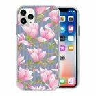 Pretty Flower Pattern TPU Back Case Cover For Mobile Phone - S10187