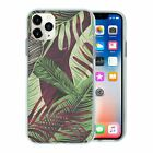 Tropical Art Pattern TPU Back Case Cover For Mobile Phone - S10263
