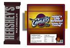 10 CLEVELAND CAVALIERS BIRTHDAY HERSHEY BAR WRAPPERS & FOILS CUSTOM PARTY FAVORS on eBay