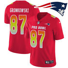 NEW Rob Gronkowski #87 2019 PRO Bowl Game New England Patriots Mens Jersey HoT🔥 on eBay