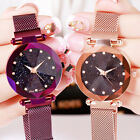 Starry Sky Watch Magnet Strap Free Buckle Stainless Steel Women Gift Fashion image