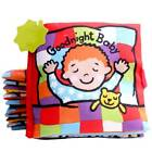 Baby Newborn Intelligence Development Cloth Bed Cognize Book Educational Toy