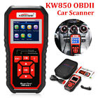 Used,  KW850 / ELM327 EOBD OBD2 OBDII DTC Scanner Car Code Reader Tester Diagnostic ! for sale  Shipping to Canada