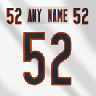 Chicago Bears White NFL Football Jersey Any Name Any Number Pro Lettering Kit $39.99 CAD on eBay