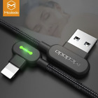 MCDODO USB Cable for iPhone X 6 7 8 2.4A Lightning to USB Cable Fast Charger