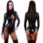Porn Sex Underwear Women Erotic Lingerie Sexy Leather Latex Baby Doll Sexy