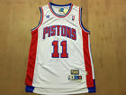 Detroit Pistons #11 Isiah Thomas Retro White Basketball Jersey Size: S - XXL on eBay