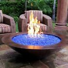Fire Pit Glass Rocks For Outdoor Propane Gas Fireplace Heat Ice Crystals 10lbs $24.99 USD on eBay