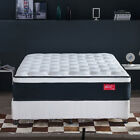 Jacia House 11.8 Inches Comfort Bed Foam Latex Innerspring Hybrid Queen Mattress