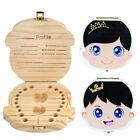 Внешний вид - New Kids Boy&Girl Tooth Box organizer for baby Save Milk teeth Wood Storage Box