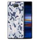 STUFF4 Gel/TPU Phone Case for Sony Xperia 10 Plus 2019 /Military Camo Camouflage