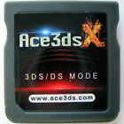 ACE3DS X Game Cartridge Flash Cart: CFW Boot9Strap B9S NTRBoot Custom Firmware