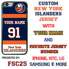 New York Islanders Personalized Hockey Jersey Phone Case Cover for iPhone etc. $21.98 USD on eBay