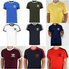 Mens California Retro Essentials Crew Neck Short Sleeve T-Shirt summer Sale