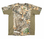 Berne Mens Realtree Edge Polyester Longshot Performance Tee S/S