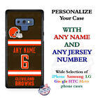 Cleveland BrownsA18 Personalized Football Phone Case Cover fits Samsung etc. $27.98 USD on eBay