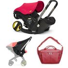 FACTORY NEW Doona Car Seat Stroller with Sunshade and Essential Bag & Car Base