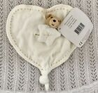 Kaloo Eco-Friendly Heart Comforter With Little Bear Un-Used