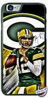 Green Bay Packers Aaron Rodgers Football  Design Phone Case for iPhone LG etc