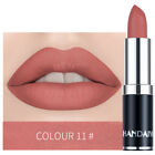 Makeup Lipstick Cosmetic 75*20mm Velvet Long Lasting Beauty 12 Color Matte Gift