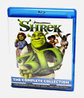 Shrek 3D Blu-ray movie complete 4 Disk (Disc 4 out of box set ). Region free