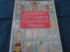 555 Country Cross-Stitch Patterns by Donna Kooler 1999 BRAND NEW SEALED