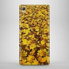 Autumn Yellow Leafs Leaves Phone Case Cover