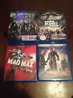 Bluray lot (Mad Max, Dredd, Dawn of Planet of Apes, X-Men Days of Future Past)