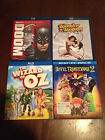 Bluray lot (Wizard of Oz, Hotel Transylvania 2, Justice League Doom, Wonder Woma