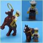 Lego Minifigure Cowgirl Callie with Pose-able Horse and accessories