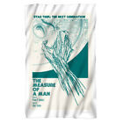 "Star Trek: TNG"" Ep. 2.9 - The Measure Of A Man"" Dye Sublimation Fleece Blanket"