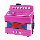 Accordion Musical Player Instrument Toy for Kids Ages 4 & up