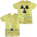 HAZMAT SUIT COSTUME Adult Men's Graphic Tee Shirt SM-3XL Halloween