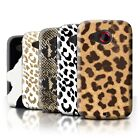 STUFF4 Phone Case/Back Cover for HTC Desire C /Fashion Animal Print Pattern