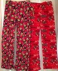Betty Boop Sleep Lounge Pants Fleece Plush Soft NWT Small S Red Pink Choice $18.0 USD on eBay
