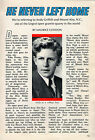 1966 Tv Guide Article~Andy Griffith and Mount Airy,North Carolina