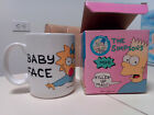 Vintage 1990 Maggie Simpson The Simpsons Baby Face Pacifier Mug