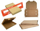 DL - BOX LARGE LETTER STRONG BROWN CARDBOARD SHIPPING MAILING POSTAL PIP