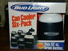 Bud Light  Foam Can Cooler Six-Pack Set with Box Soffware Plus Extras