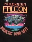 NEW-Star Wars-Old Navy T-Shirt-Galactic Tour 1977-Millennium Falcon $9.99 USD on eBay