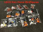 """AUTHENTIC LEGO EXO-FORCE THEMED CHARACTER MINIFIGURES """"YOU PICK/CHOOSE"""" $4.49 USD on eBay"""